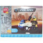 Jucarie de construit masina de politie, 36 piese, BlockTech