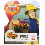 Masinuta metalica Venus, Sam Fireman, 6 cm