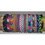 Set creatie bratari elastice Loom, 600 piese