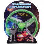 Disc zburator luminos cu dispozitiv de lansare