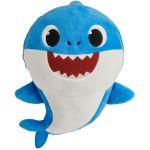 Jucarie muzicala din plus Dady Shark, Baby Shark, 35 cm