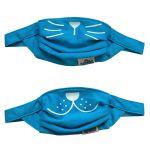 Set 2 masti faciale reutilizabile (acoperitoare fata), Trunki, Albastru