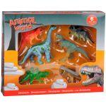 Set 6 figurine dinozauri din cauciuc