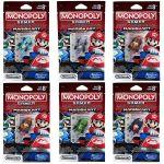 Set 6 mini-figurine Super Mario Monopoly
