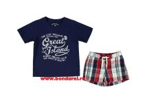 SHORT + TRICOU BAIE 3659 Ink