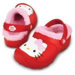 HELLO KITTY Lined Red