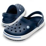 CROCBAND II Navy & Blue