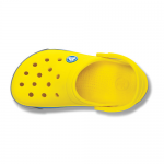 CROCBAND II.5  Yellow | Light Grey