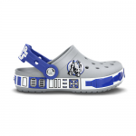 CROCBAND STAR WARS R2 D2 Light Grey/Cerulean Blue