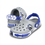 CROCBAND STAR WARS R2 D2 Light Grey/Cerulean Blue