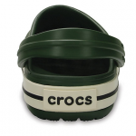 CROCBAND Forest Green/Stucco
