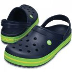CROCBAND Navy/Volt Green/lemon