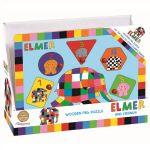 Elmer | Joc puzzle din lemn