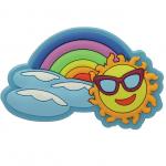 Jibbitz Rainbow Sun