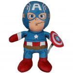 Papusa din plus Captain America, 50 cm