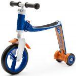 Trotineta 2-in-1 Scoot & Ride HighwayBaby+ 1-4 ani, Blue / Orange