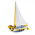 Jucarie de construit 3D Barca cu vele 089.072, 22 cm