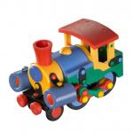 Jucarie de construit 3D Locomotiva 089.070, 15 cm