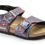 Sandale New York Spiderman Action Blue