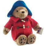 Ursuletul Paddington cu haina rosie, 36 cm